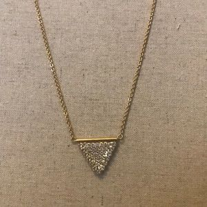 Sorrelli bright gold necklace